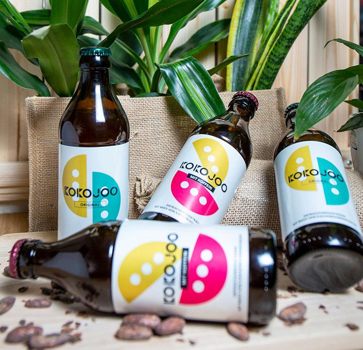 drinks made from cocoa shells, cocoa husk and cocoa juice by kokojoo